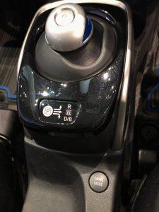 ノートe-power 走行モード切替ボタン