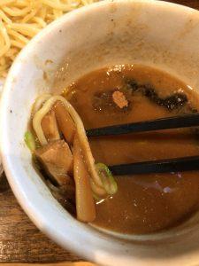風雲児 つけ麺 具材