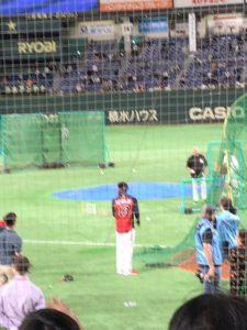 日米野球2018の練習風景4 ロナルド・アクーニャJr.