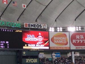 日米野球2018 ヤディエル・モリーナ
