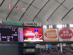 日米野球2018 アメド・ロサリオ