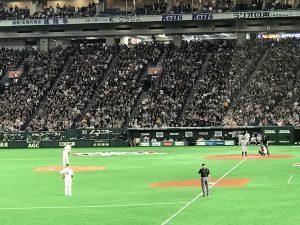 イチロー引退試合 8回表 最終打席4