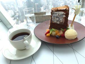 進撃の巨人展FINAL リーブス商会CAFE リヴァイと紅茶のデザート~ひとつ残らず、全部食え~
