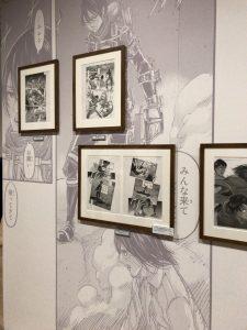 進撃の巨人展FINAL後期 ミカサ・アッカーマン 原画展示02