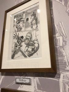 進撃の巨人展FINAL後期 ミカサ・アッカーマン 原画展示06