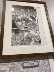 進撃の巨人展FINAL後期 ミカサ・アッカーマン 原画展示07