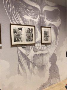 進撃の巨人展FINAL後期 アルミン・アルレルト 原画展示02