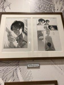 進撃の巨人展FINAL後期 エレン・イェーガー原画展示05